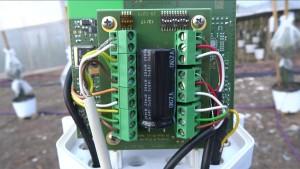 Richwater estudio agronomico / agronomic study instalacion sensores / installation of sensors