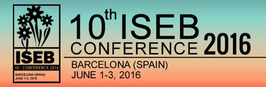 Presentación del proyecto en la conferencia internacional ISEB'16 Barcelona