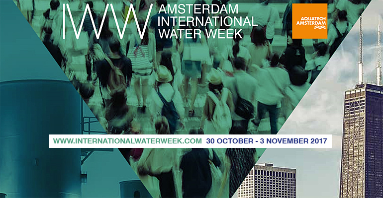 Amsterdam International Water Week cartel