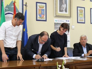 Agreement with local authorities in the region of La Axarquia