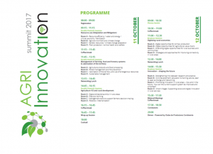 agri innovation summit programme
