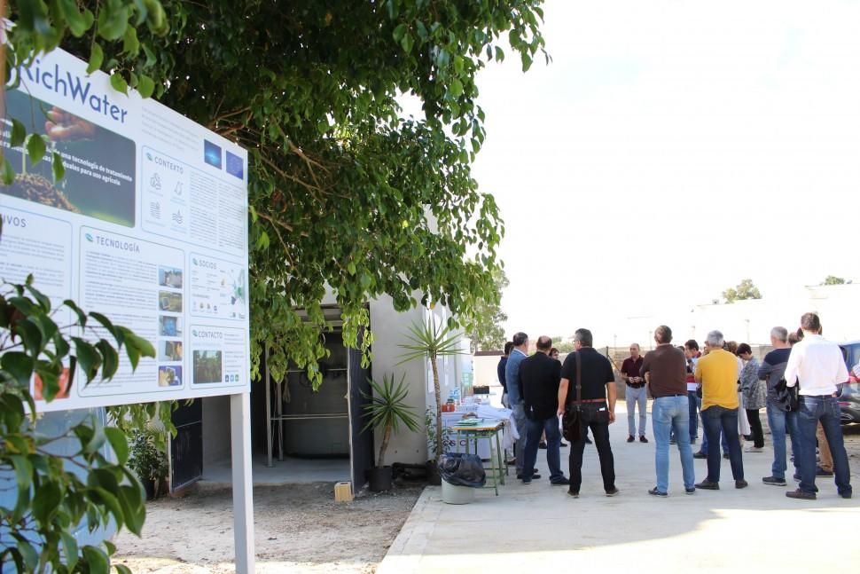 Octubre-2017 Visitas informativas a la planta Richwater