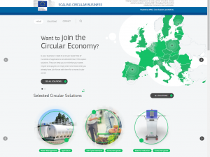 EC platform for scaling circular business